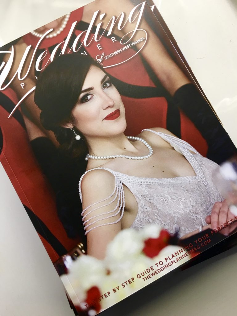 Cover of Wedding Planner Magazine